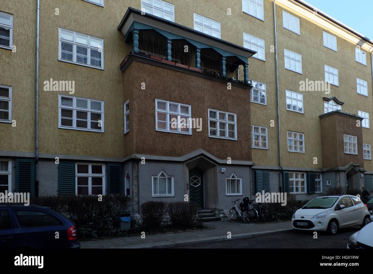 Eingang Zum Herschelstrasse 4c Berlin Charlottenburg Erbaut 1926