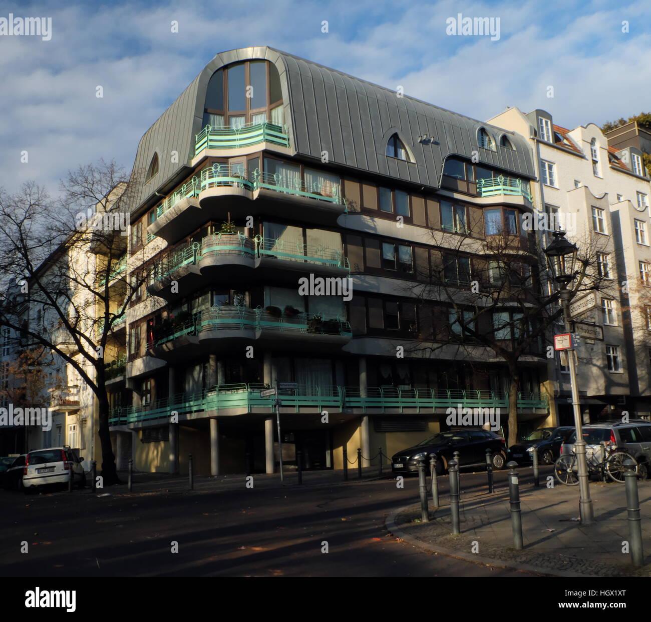 1980er Jahren Berlin Apartment House Architekt Hinrich Baller