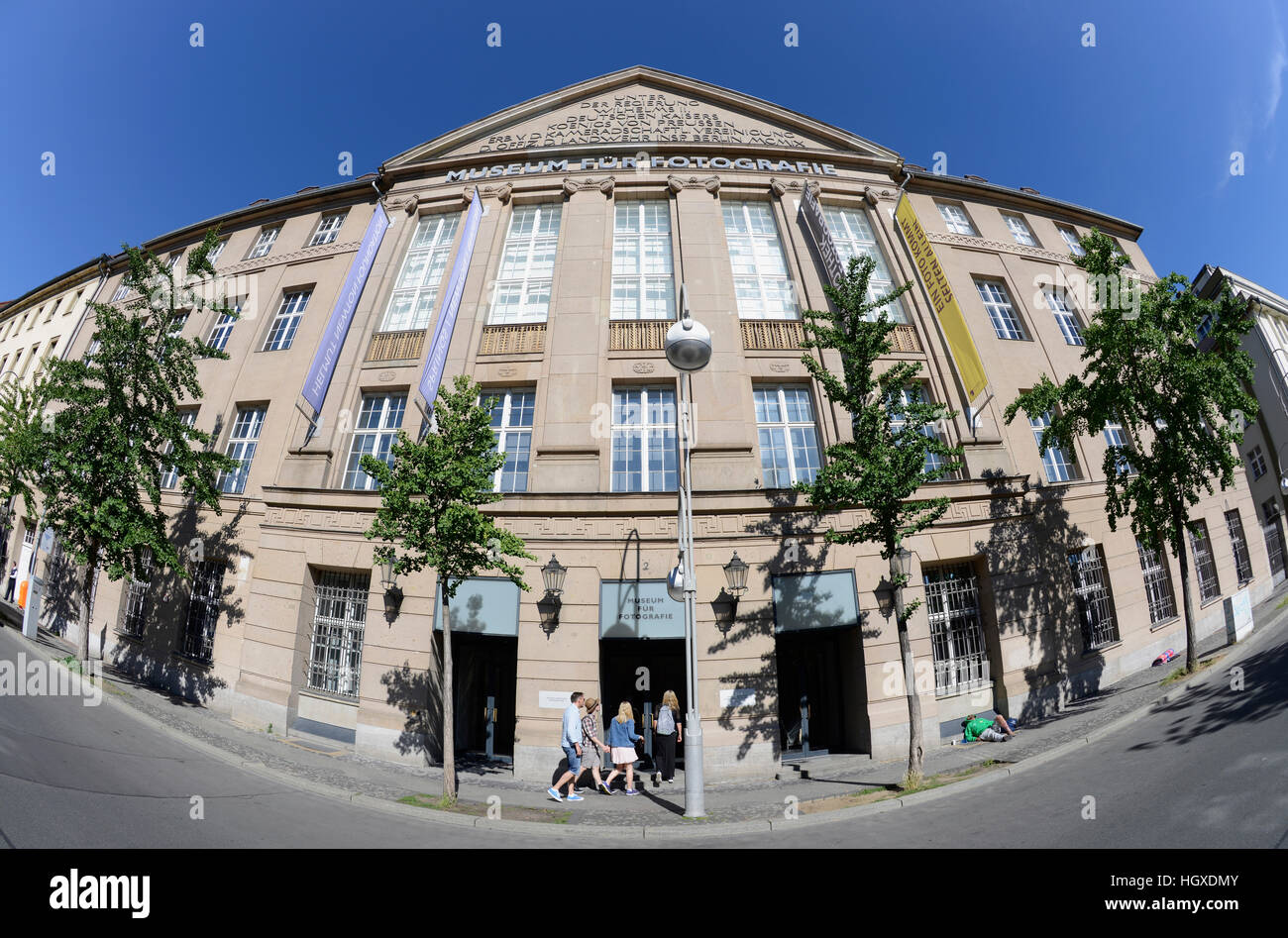 Museum Fuer Fotografie, Jebenstrasse, Charlottenburg, Berlin, Deutschland Stockbild