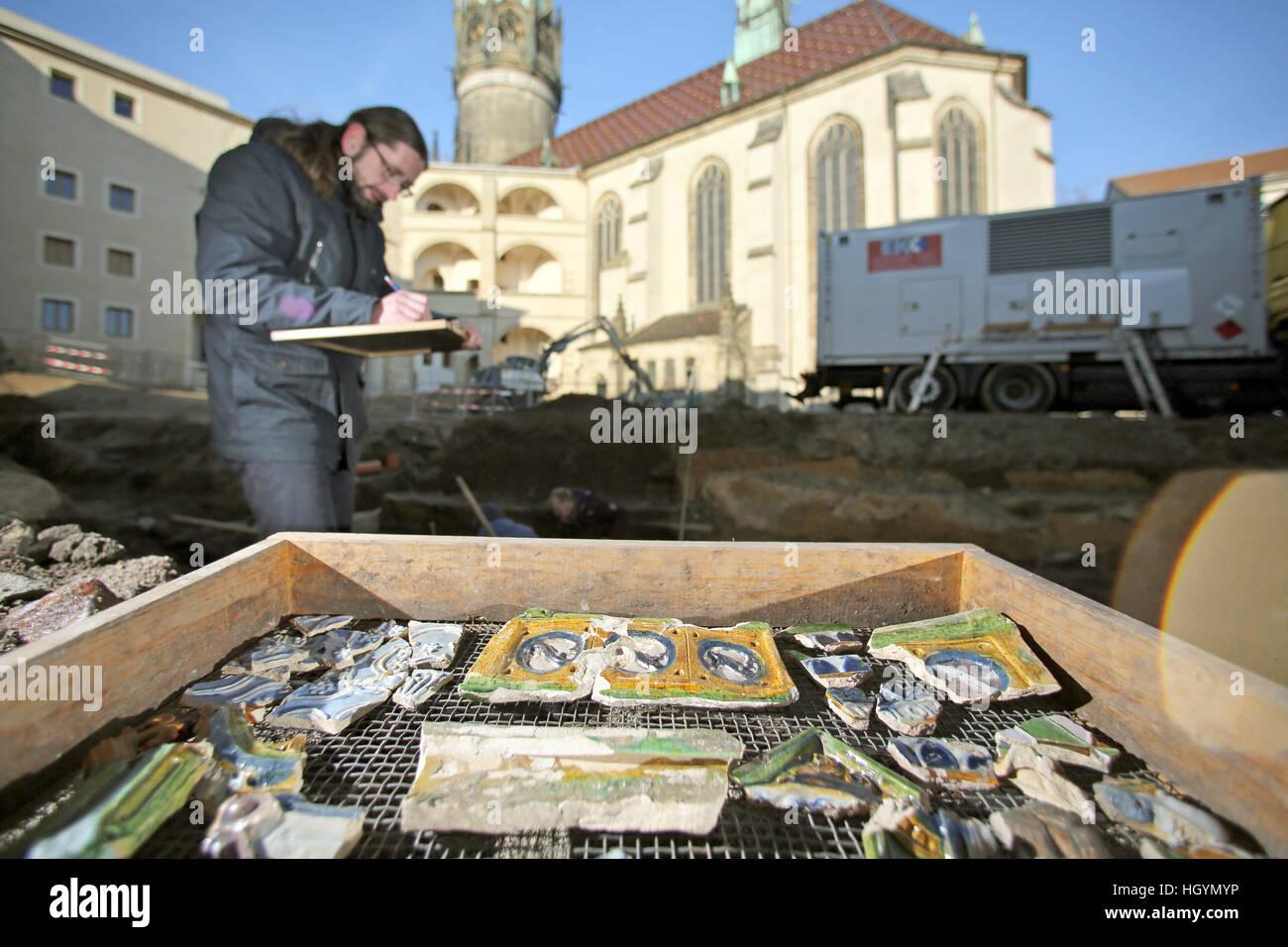 Wittenberg Deutschland 16 Dezember 2016 Archaologe Holger Rode
