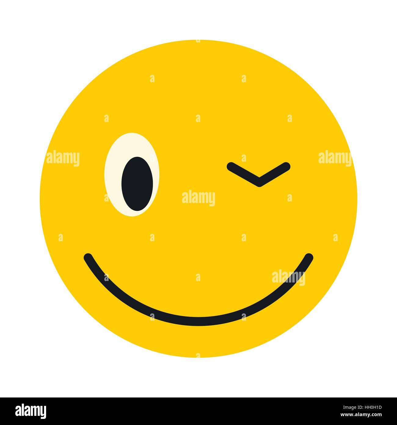 Zeichen zwinker smiley patecchandchi: Zwinker