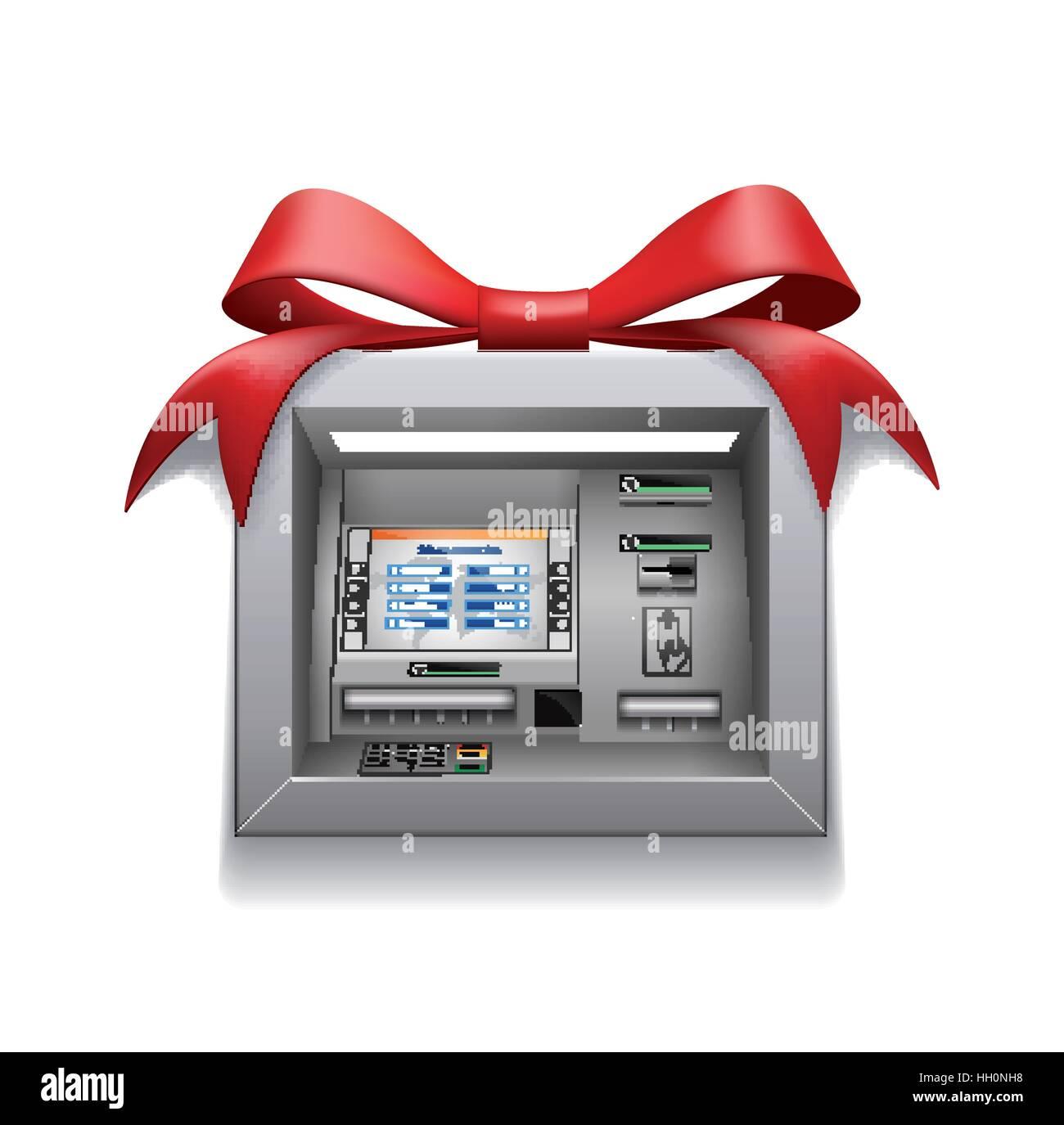 ATM - Automated Teller machine Stockbild