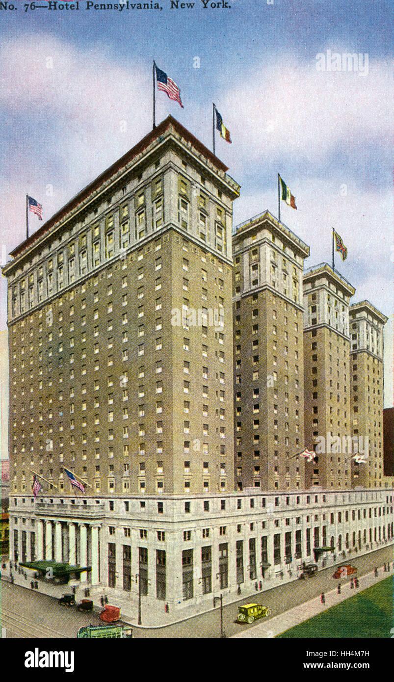 Hotel Pennsylvania Befindet Sich An Der 401 7th Avenue 15 Penn