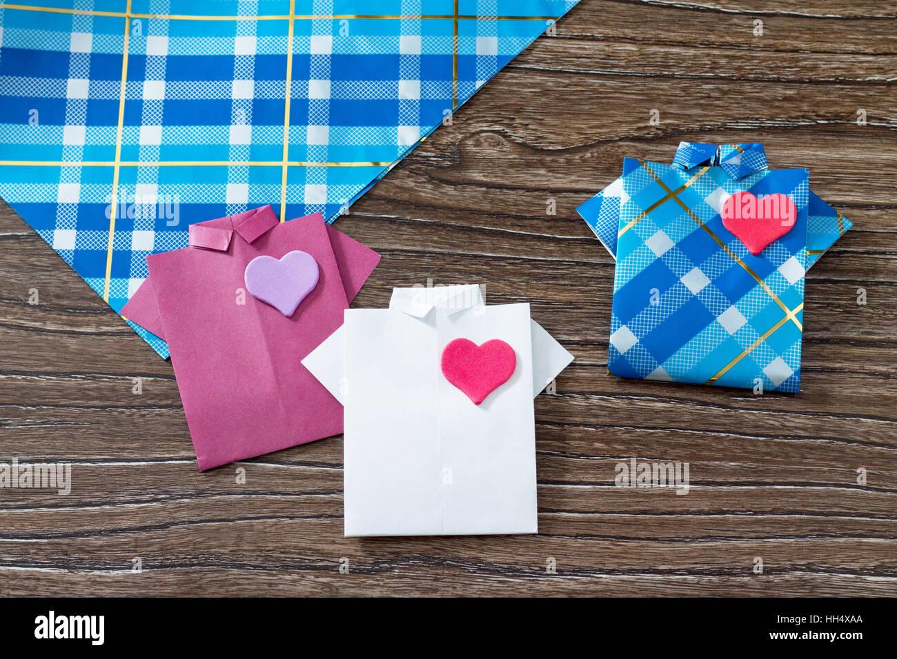 Geschenk Für Vatertag Hintergrund Textfreiraum Geschenk Shirt