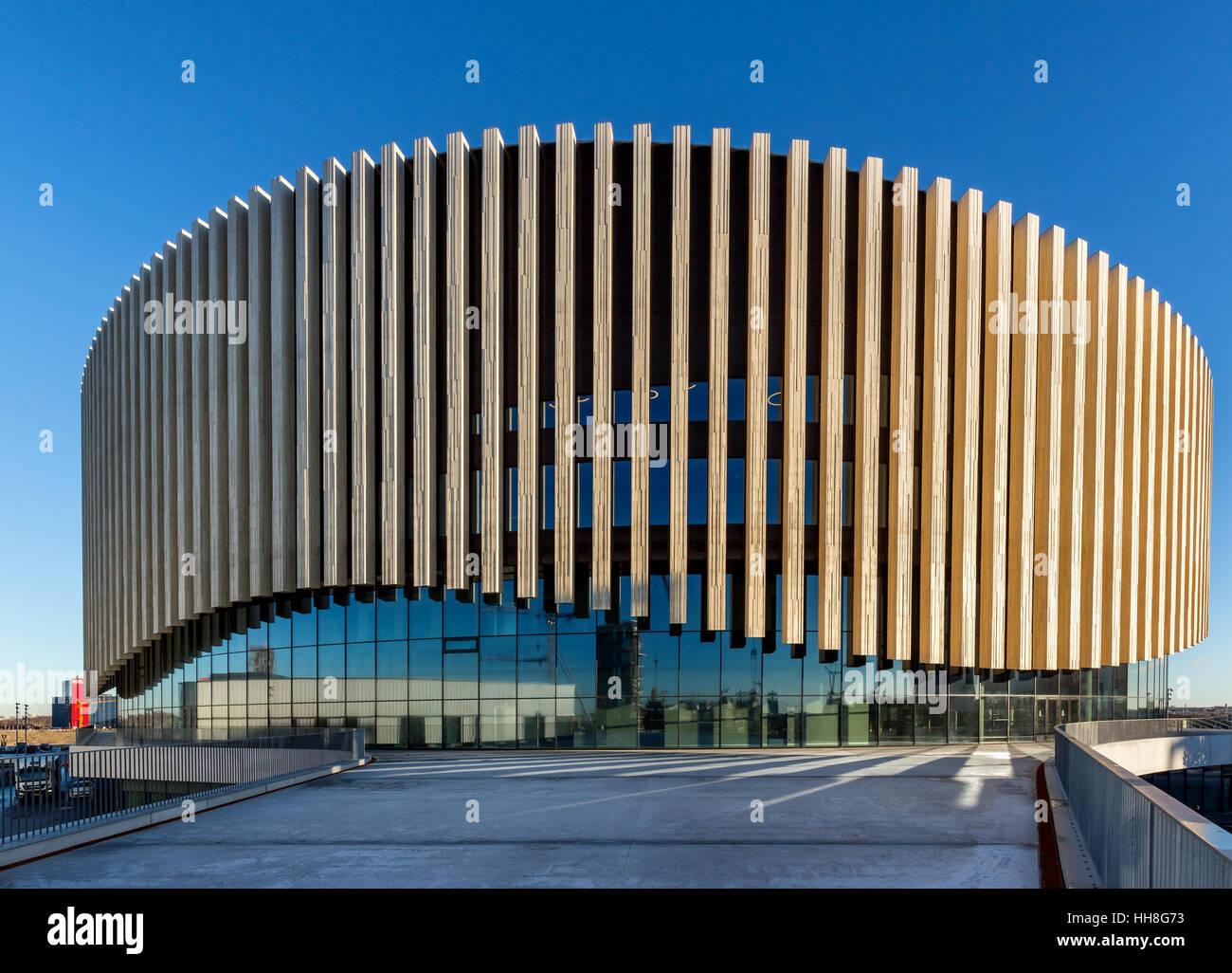 Royal Arena, einer Multi-Use-Reithalle, Kopenhagen, Dänemark Stockbild