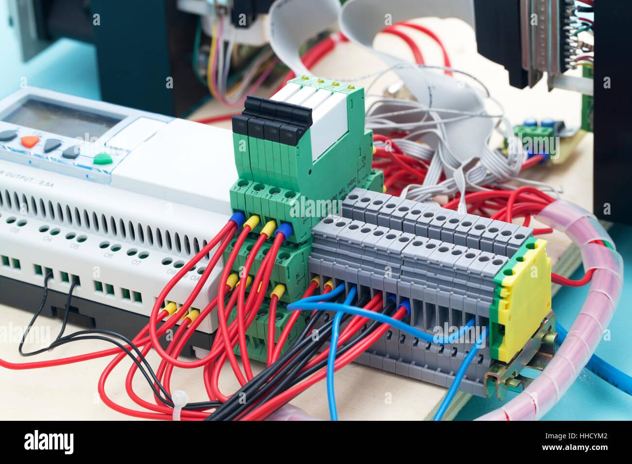 Board, Experiment, Draht, Labor, Schaltung, Prototypen, Elektronik ...