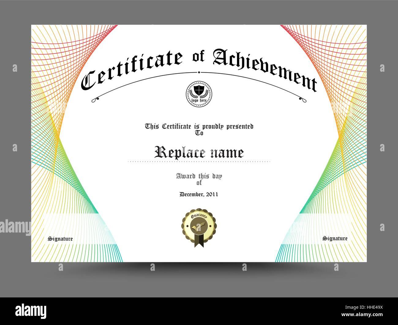Diploma Border Stockfotos & Diploma Border Bilder - Alamy