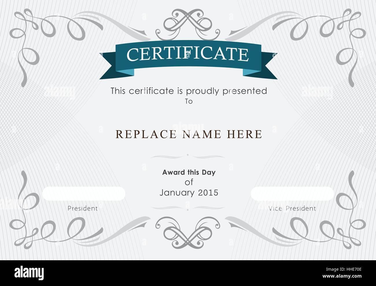 Certificate Frame Stockfotos & Certificate Frame Bilder - Alamy