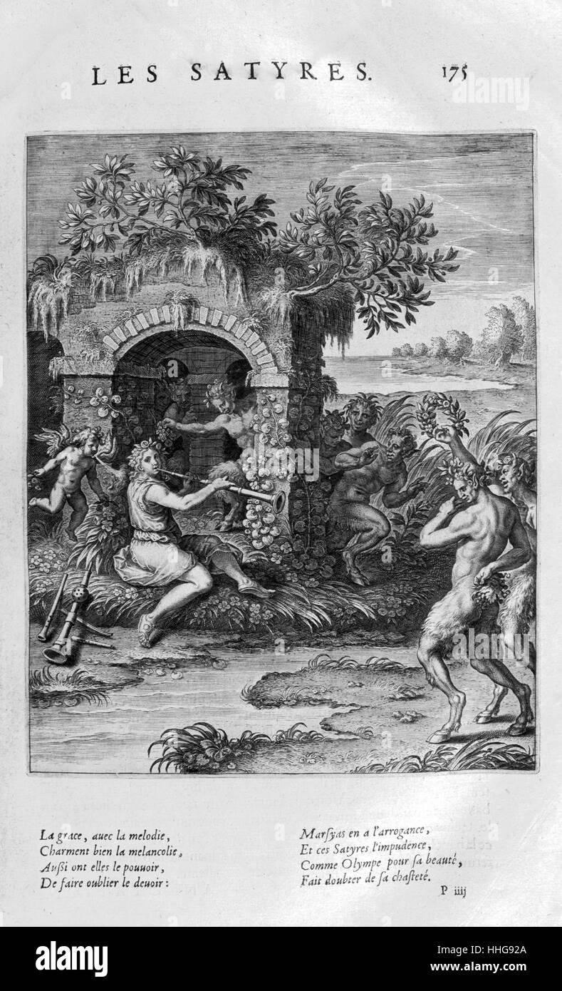 Semele. Platte aus Les Images Ou Tableaux De Platte Peinture Des Deux Philostrates Selbstbetrachtungen steil, von Stockbild