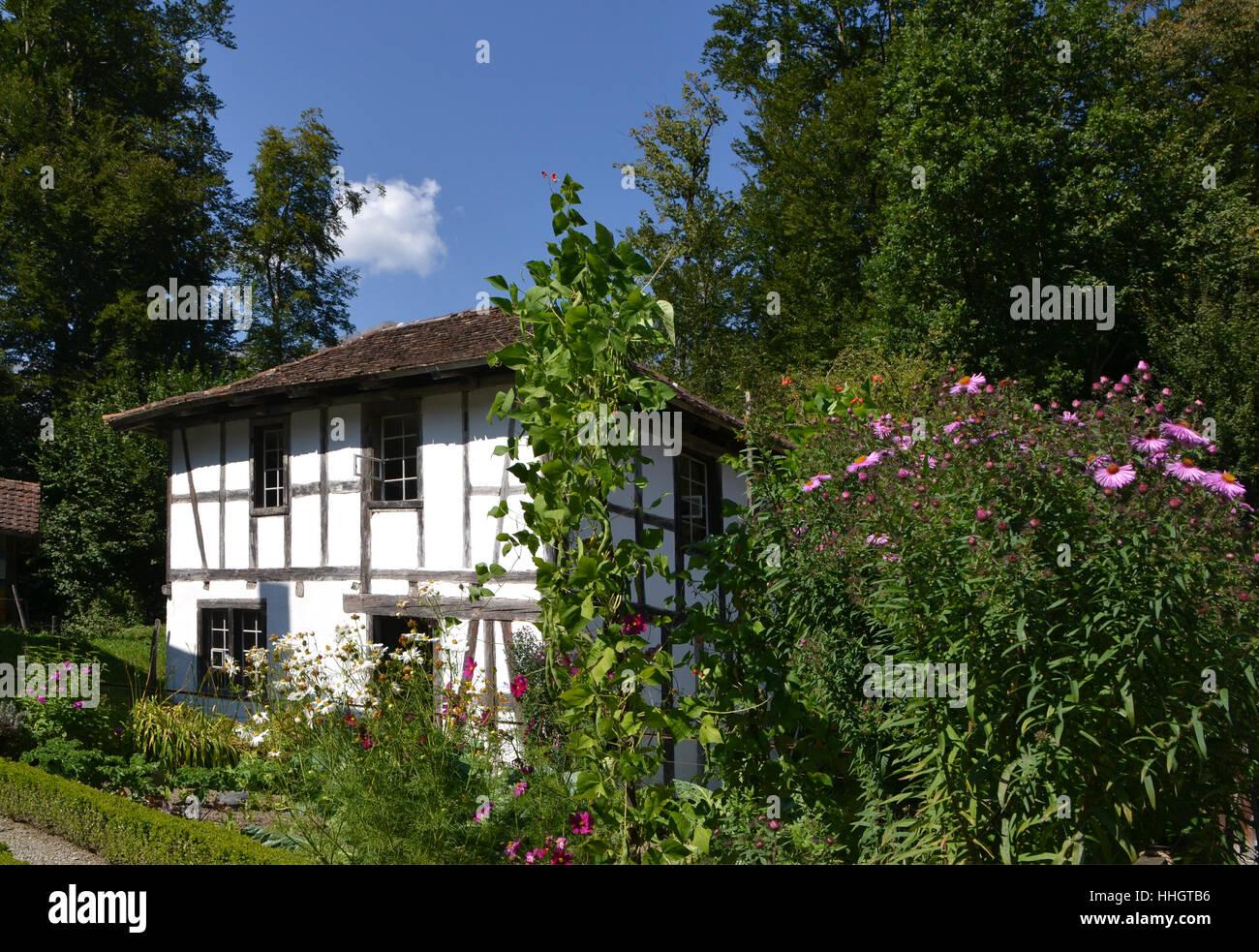 Garten, Sommer, sommerlich, Gärten der Schweiz Rahmenarbeit ...