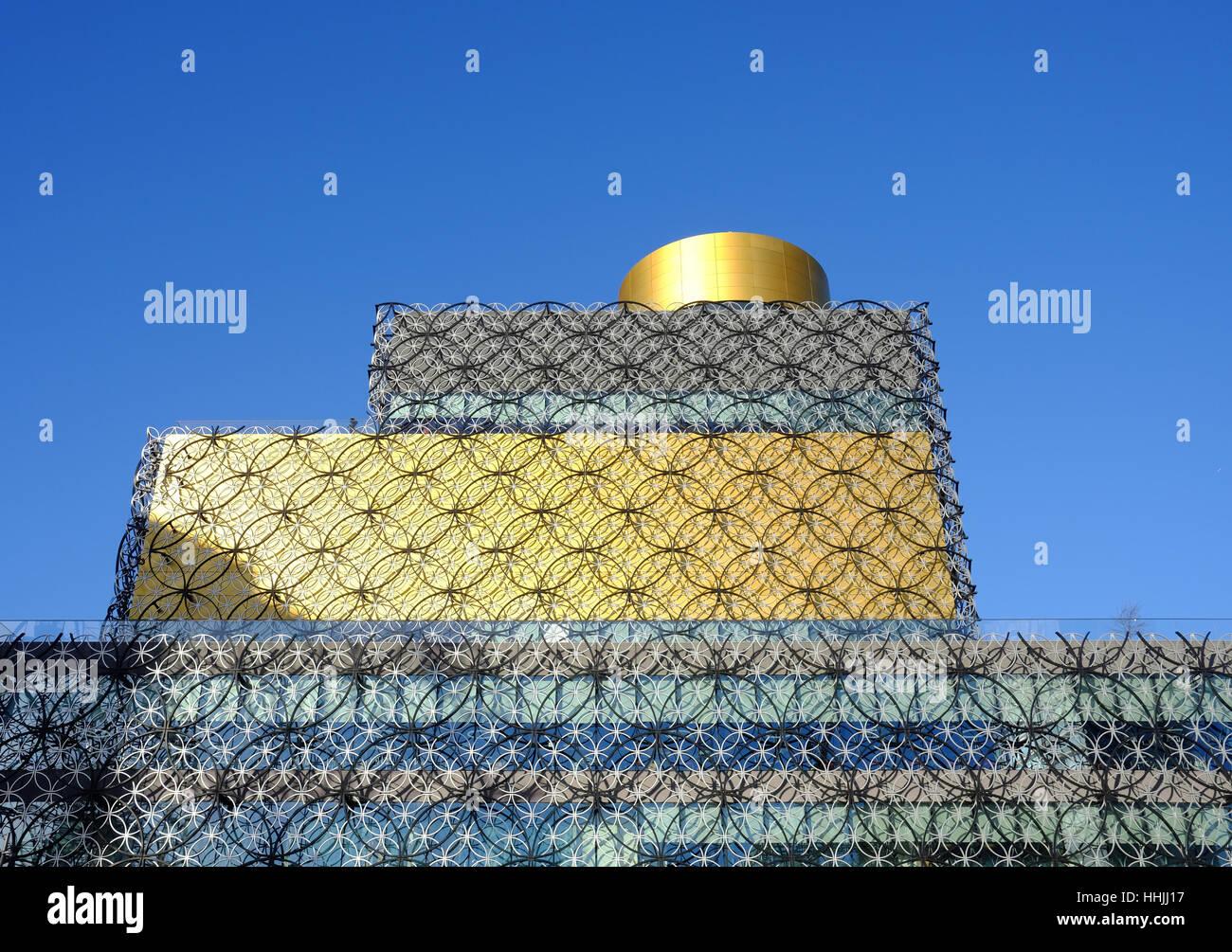 Die Bibliothek von Birmingham, UK Stockbild