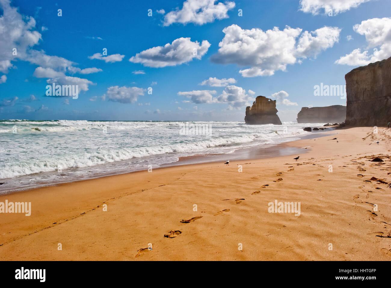 Zwölf Apostel, Great Ocean Road, Australien Stockbild