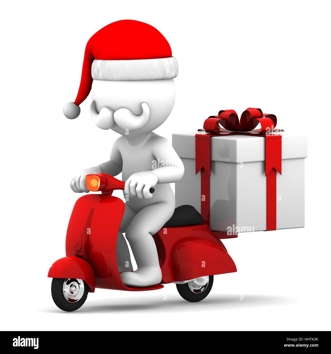 Transport, Geschenk, Kasten, Kästen, Weihnachten, Motorrad, Motorrad ...