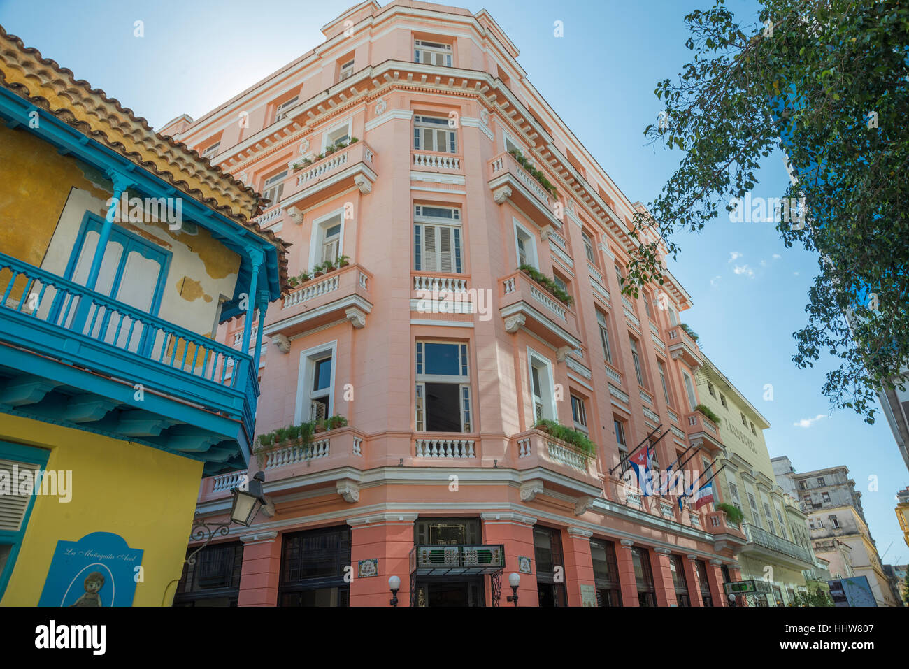 Ernest Hemmingway Hotel in Havanna Stockbild