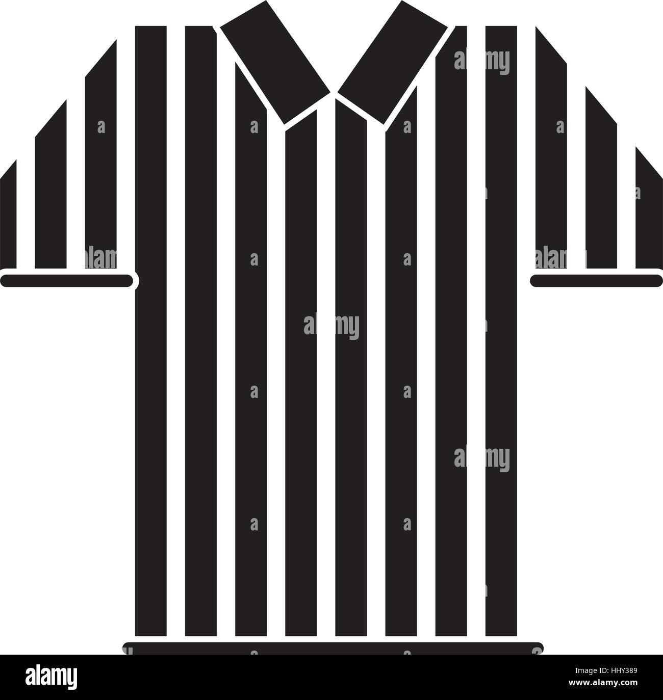online store 60a99 2f62a Silhouette Schiedsrichter Trikot Streifen american-football ...