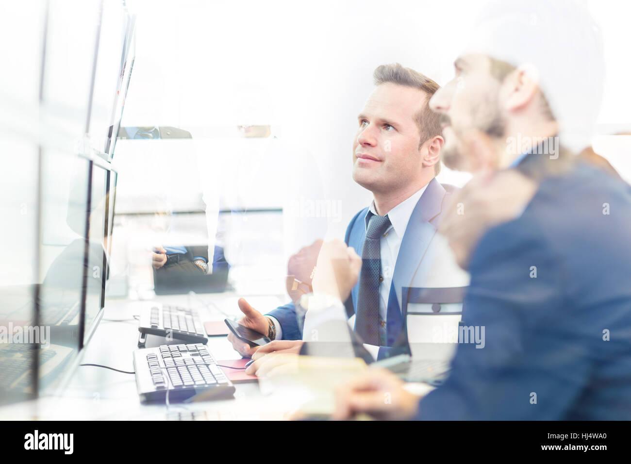 Geschäftlichen Erfolg. Stockfoto
