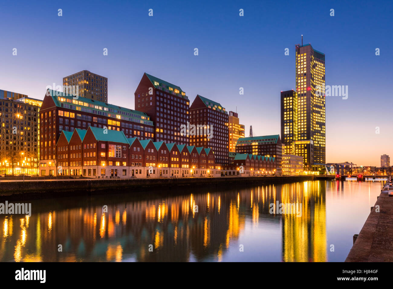 Rotterdam stockfotos rotterdam bilder alamy for Architektur niederlande