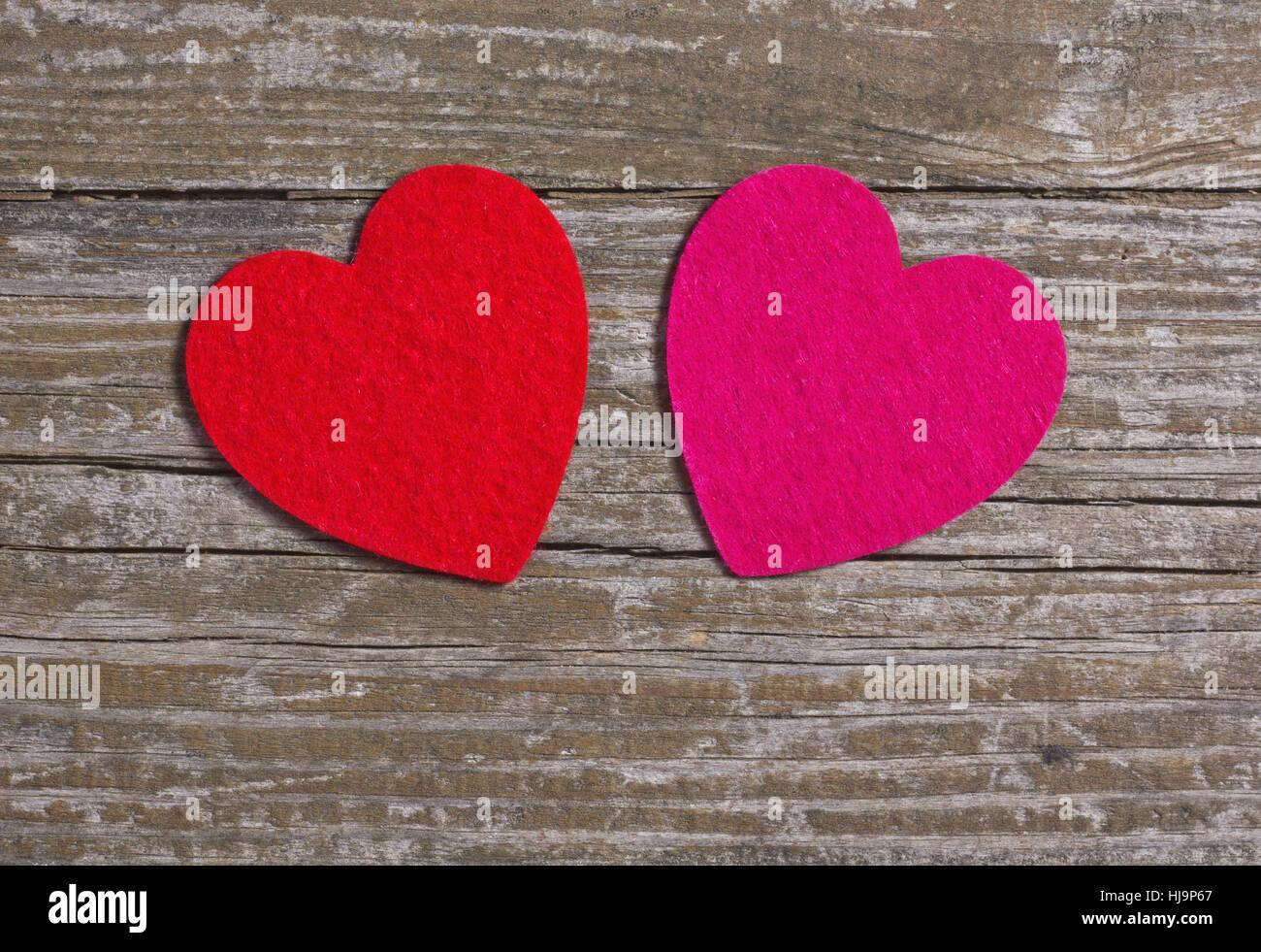 Holz Muttertag Valentinstag Herzen Hintergrunde Liebe Verliebt