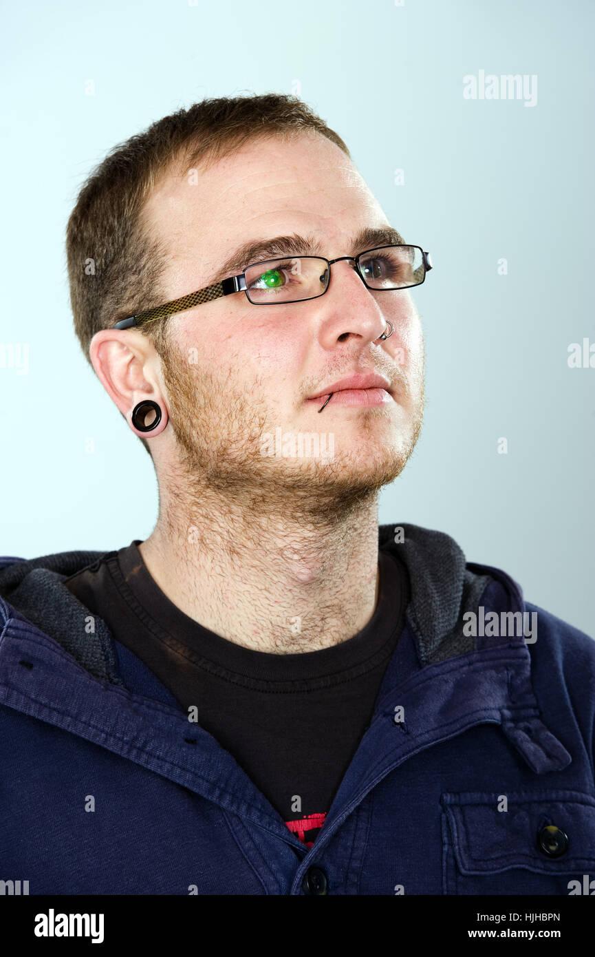 Ohrring männer links oder rechts