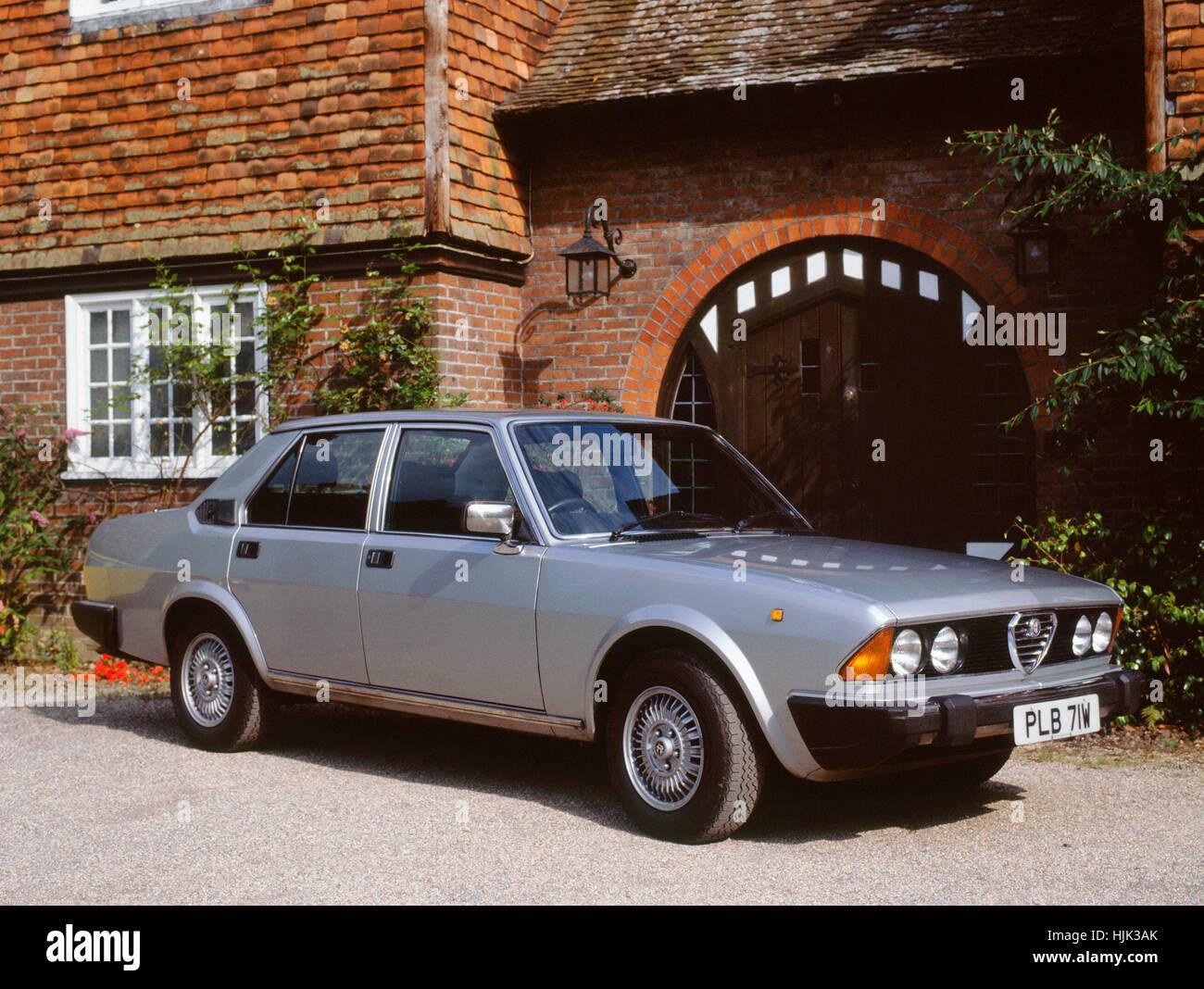 1981-Alfa Romeo 6 Stockbild