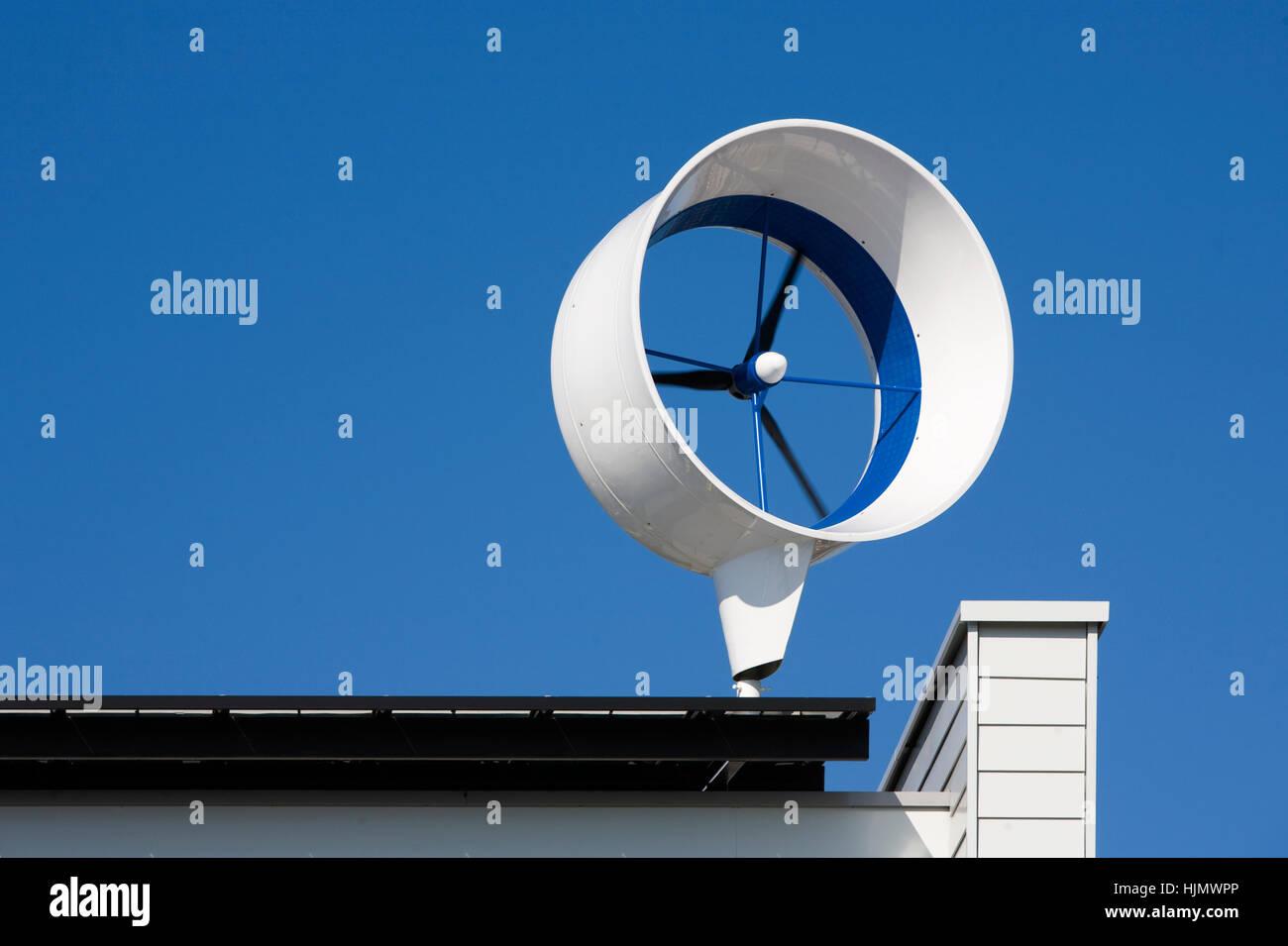 Privat, Haus, Gebäude, Umwelt, Industrie, Propeller, Umwelt, Energie,