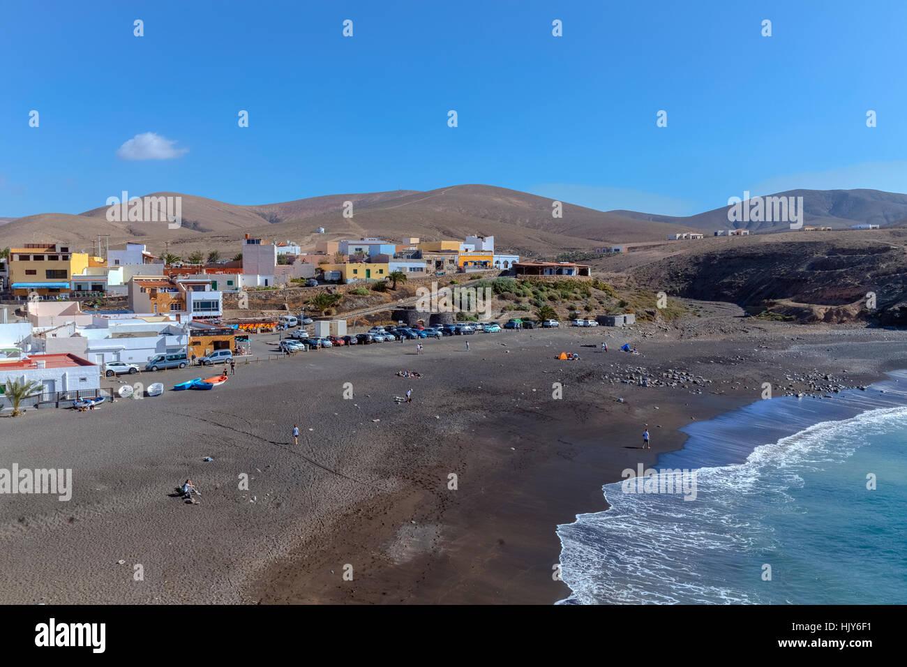 Ajuy, Pajara, Fuerteventura, Kanarische Inseln, Spanien Stockbild