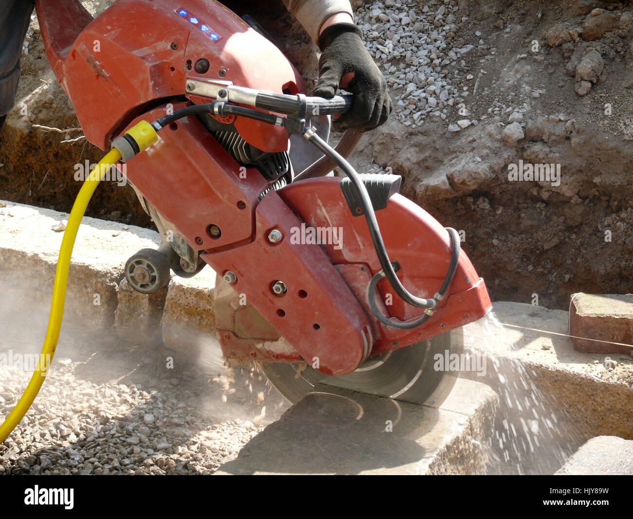 Gut gemocht Stein, flex Backsteinbau, Maschine, Winkelschleifer, Roboter SE64