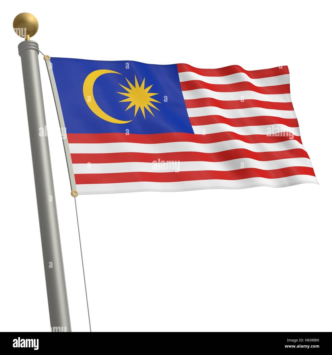 Beste Malaysia Flagge Färbung Seite Ideen - Beispiel Anschreiben für ...