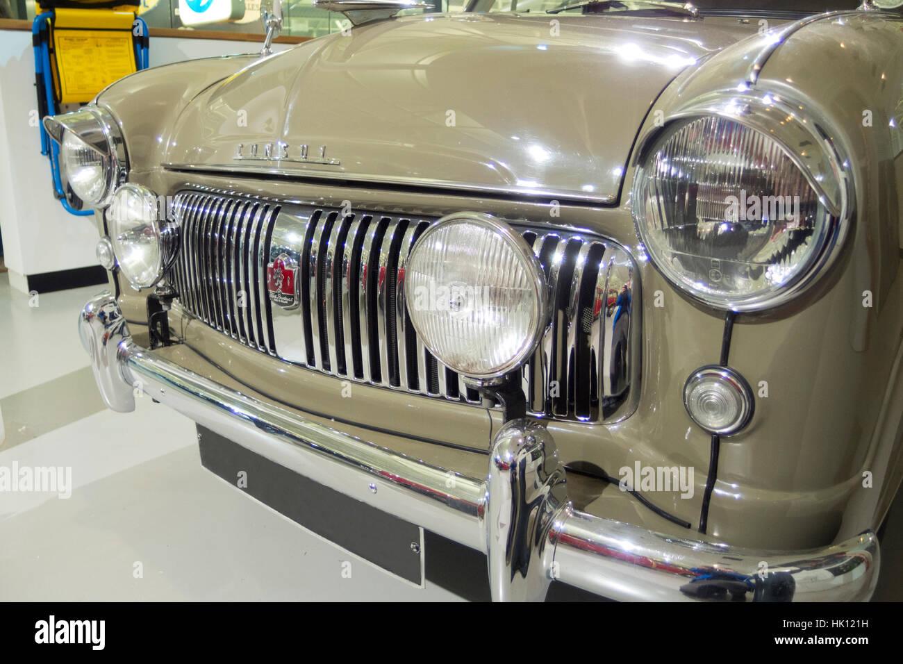1953 Ford Consul Auto Stockbild