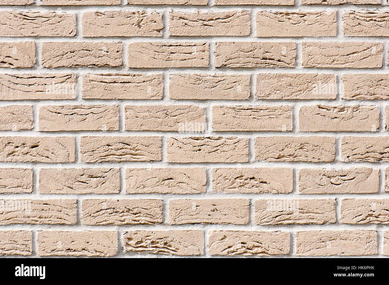 Ockerfarbenen Mauer für Hintergrund oder Textur Stockfoto, Bild ...