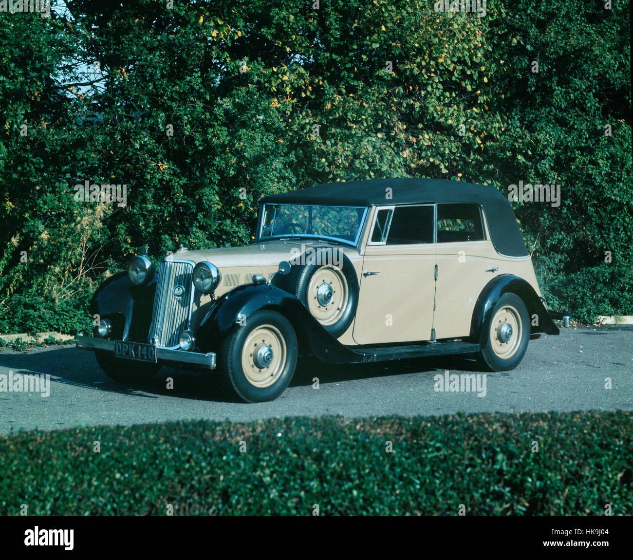 1949 Armstrong Siddeley Hurricane Stockbild