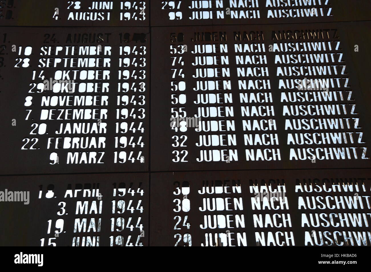 Berlin Deutschland 27 Januar 2017 Internationalen Holocaust