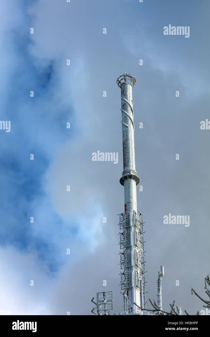 Sendemast Antenne Stockbild