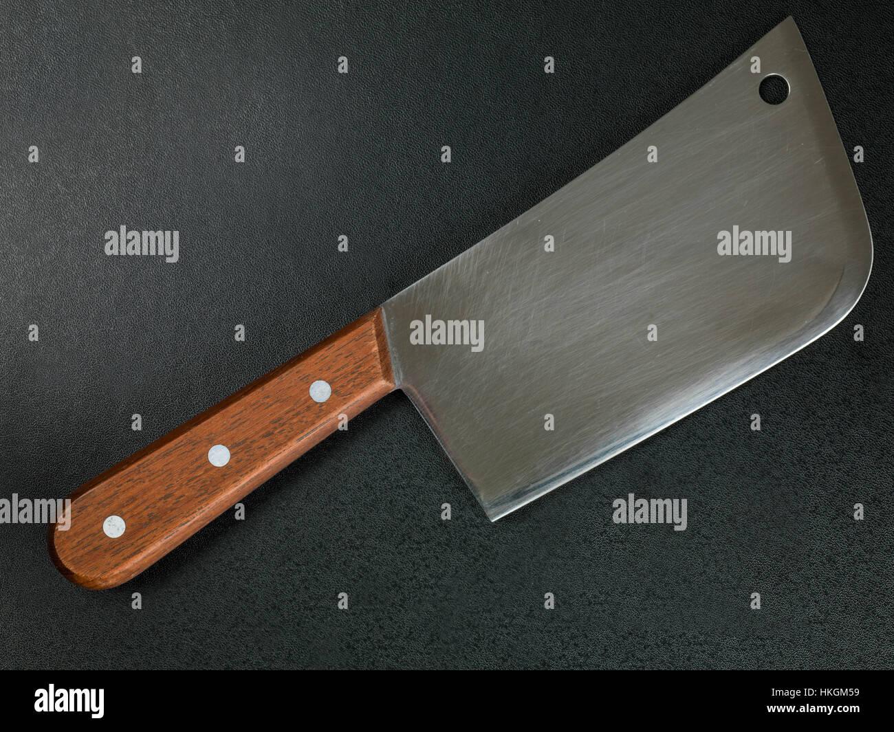 Blitzhacker oder Spalter Messer Küchenutensil Stockbild