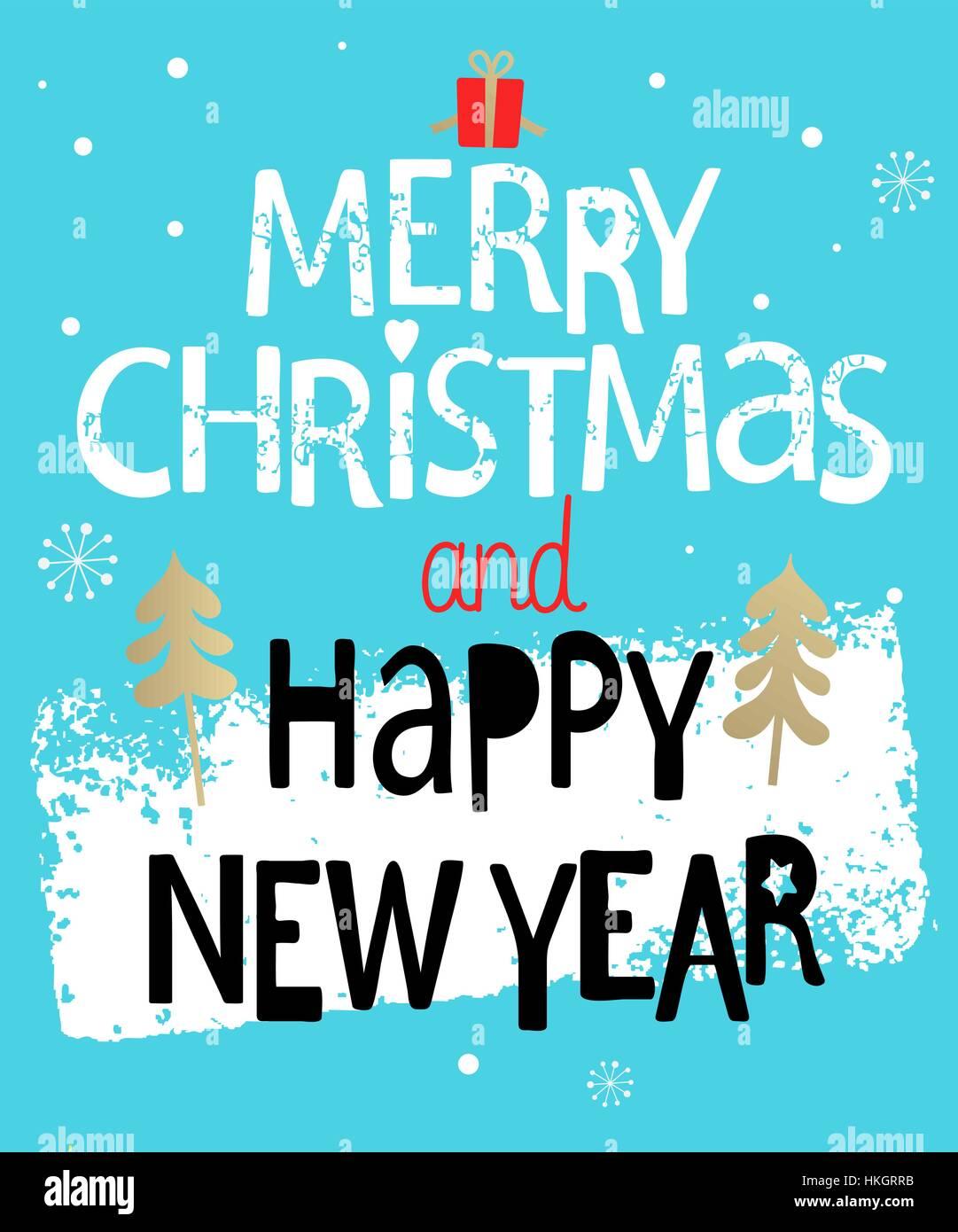 Christmas Greeting Card Frohe Weihnachten und frohes neues Jahr ...