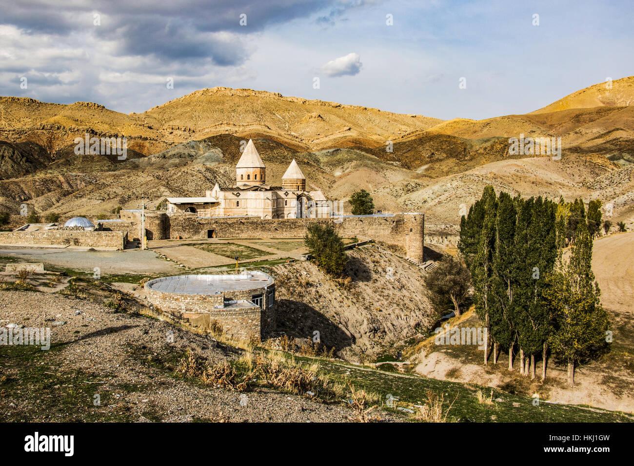 Kloster St Thaddeus West Aserbaidschan Iran Stockfotografie Alamy