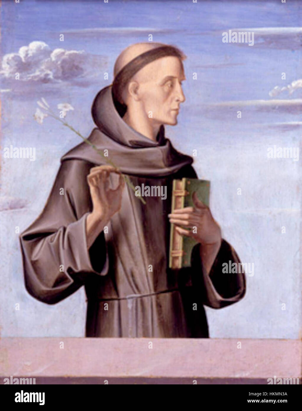 Antonius Padua Alvise Vivarini Stockbild