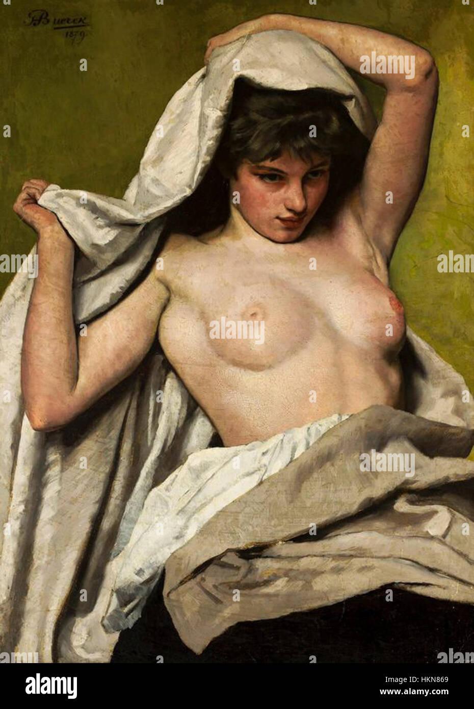 Frauen Halb Nackt