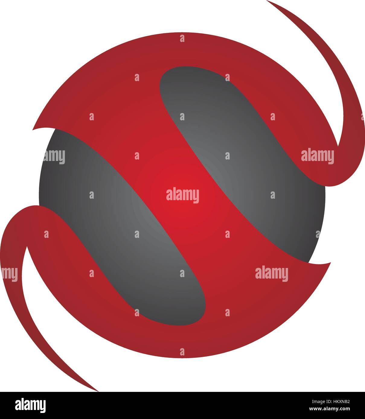 Dynamische Rotation Marketing Vertrieb Geschäftsbrief S Stockbild