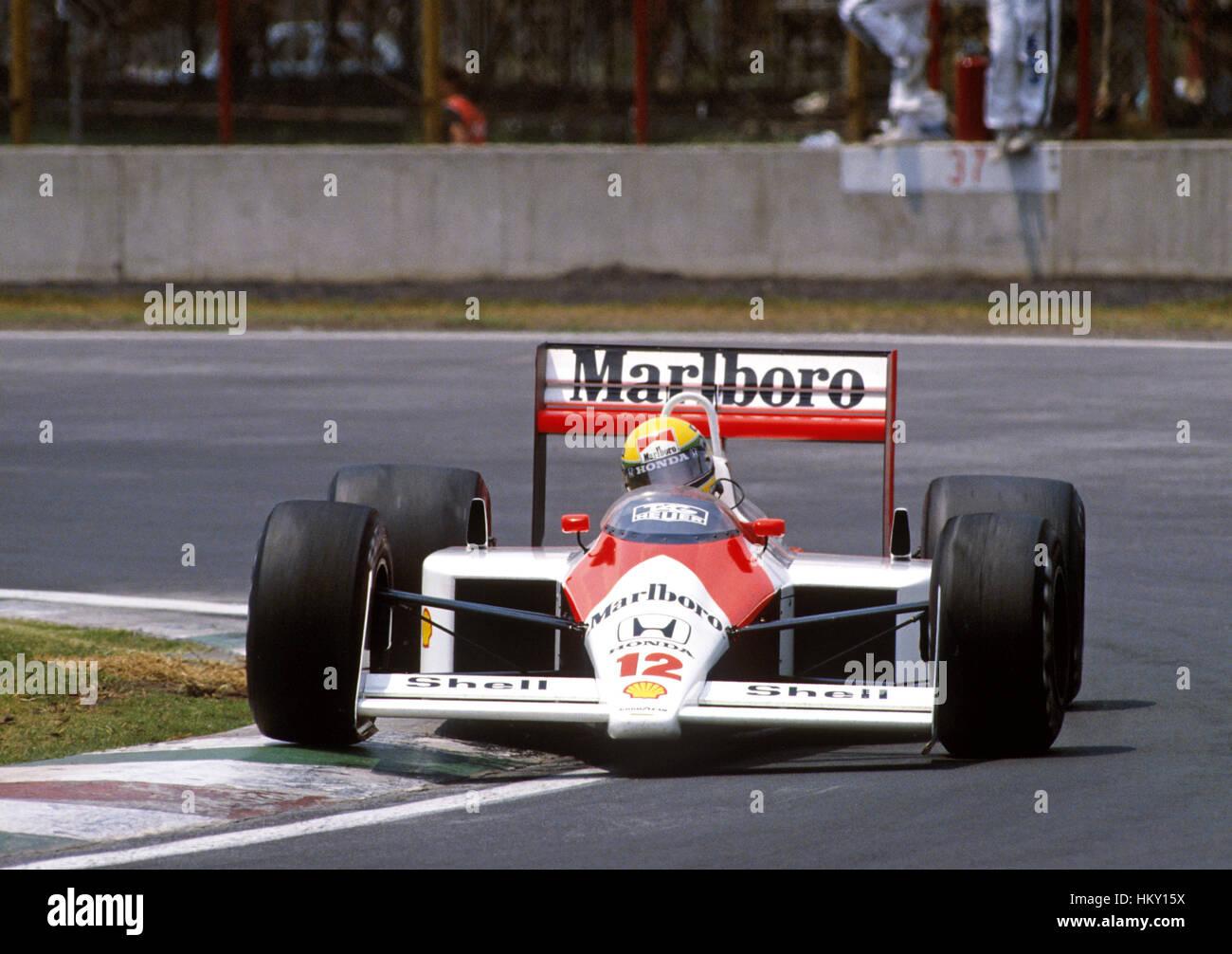 1988 ayrton senna brasilianischen mclaren mp4/4 monza italienische