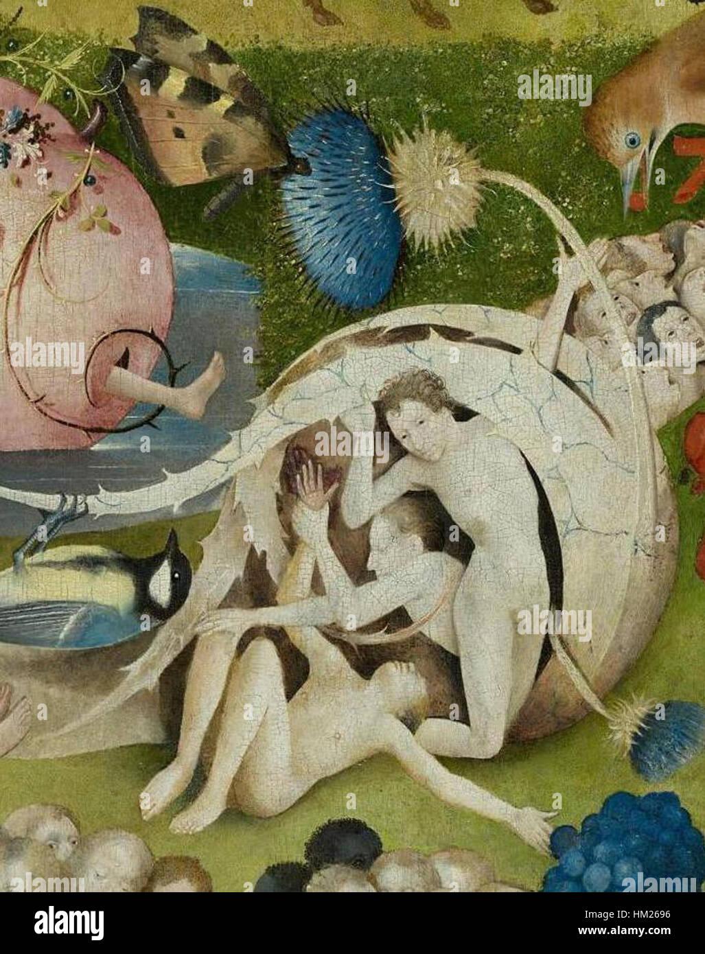 Hieronymus Bosch Garten Der Luste Triptychon Mitteltafel Detail