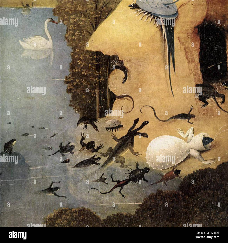 Hieronymus Bosch Triptychon Der Garten Der Lüste Detail