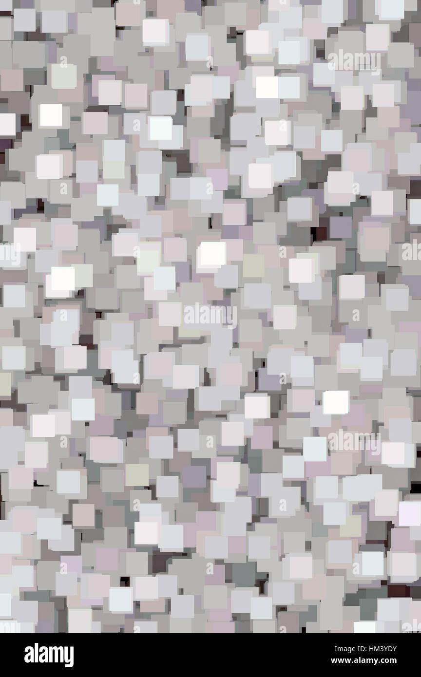 Detaillierte Zusammenfassung Square Textur vertikal Hintergrundmuster, Pink, grau, blau, weiß Stockbild