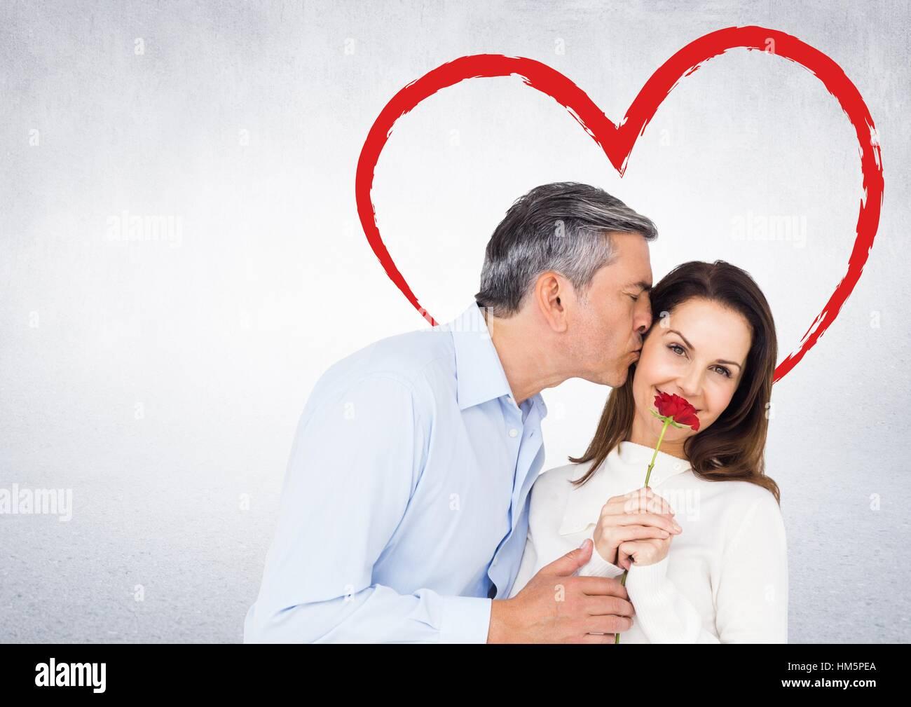 Reifer Mann und Frau