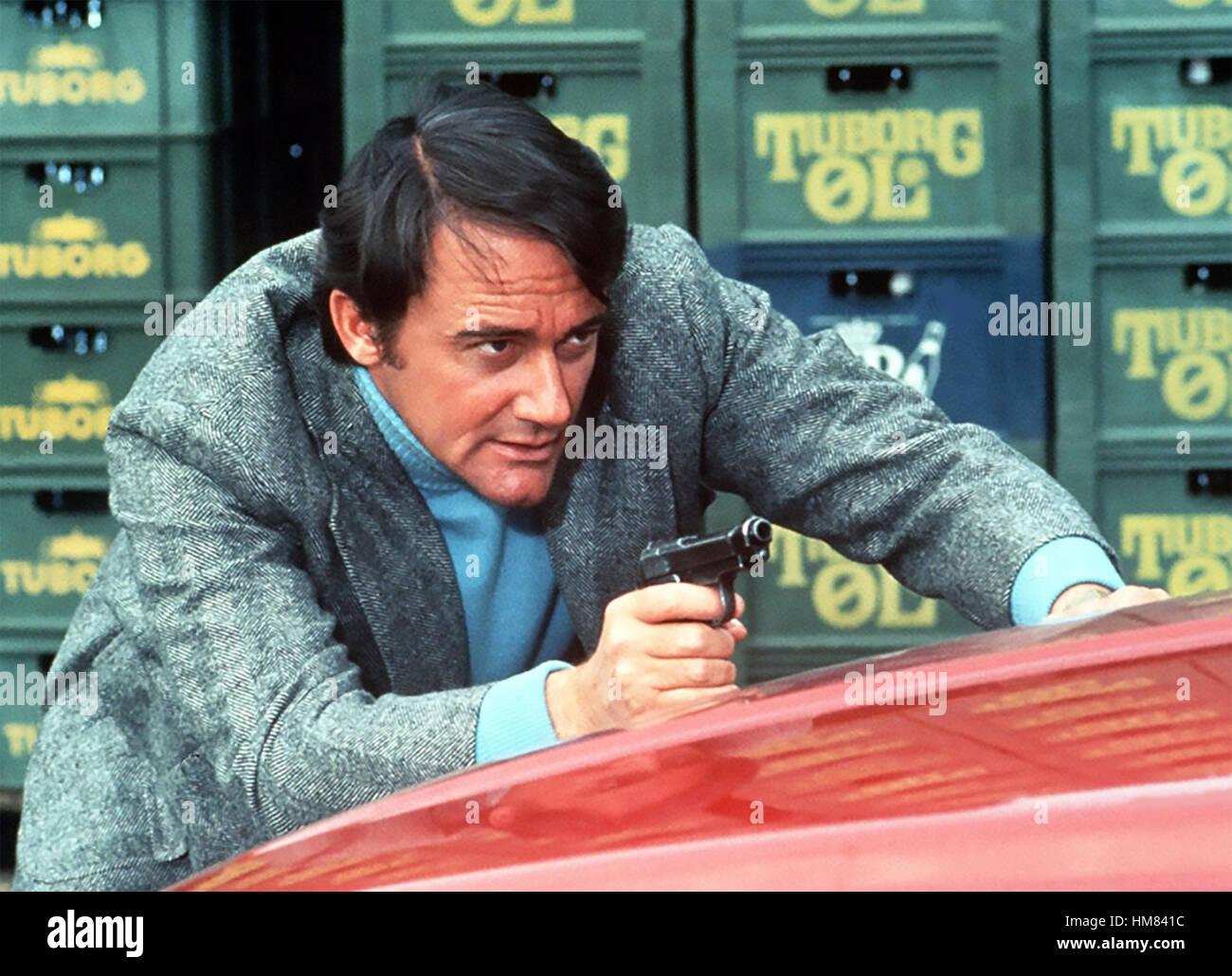 DIE Protektoren ATV-Serie 1972-1974 mit Robert Vaughan als Harry Rule Stockbild