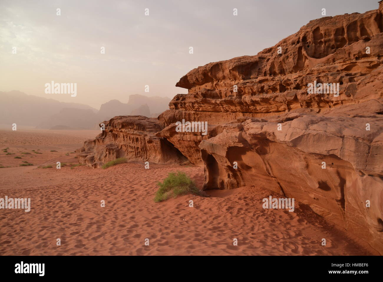 Wadi Rum Stockbild