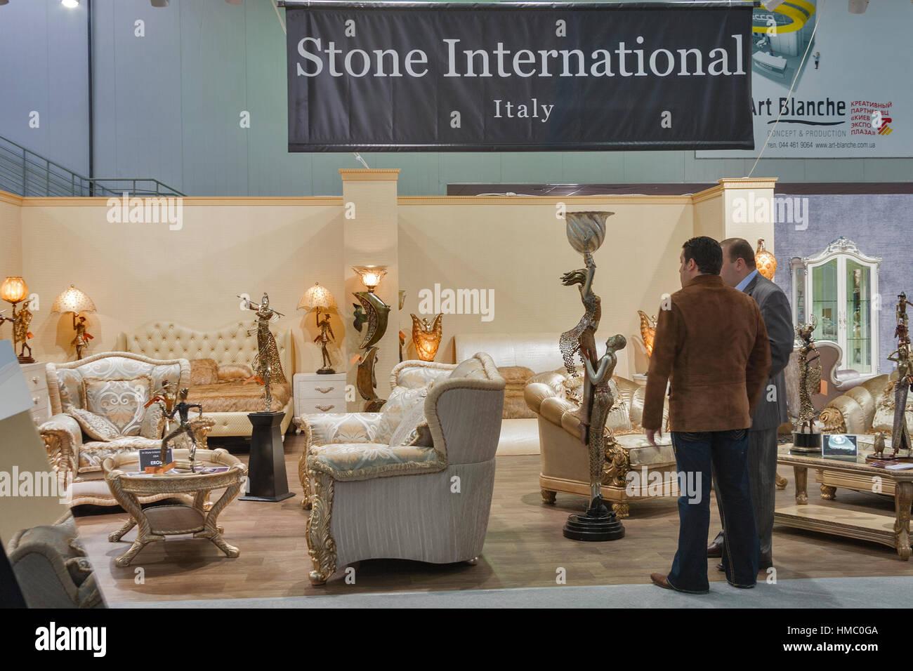 Besucher Besuch Stein internationalen italienischen Luxus Möbel ...