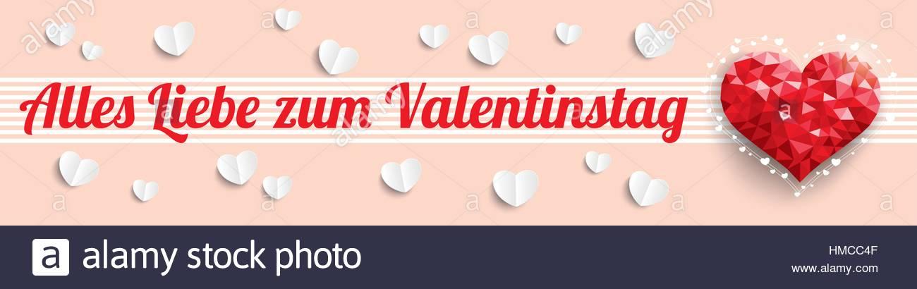 Alles Liebe Zum Valentinstag Stockfotos & Alles Liebe Zum ...