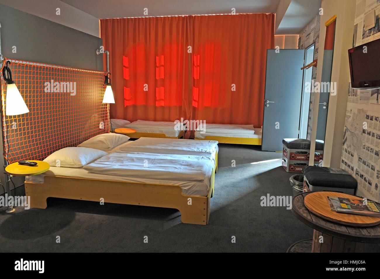 Das Hotel Superbude St. Pauli, Schanzenviertel, Hamburg, Deutschland ...