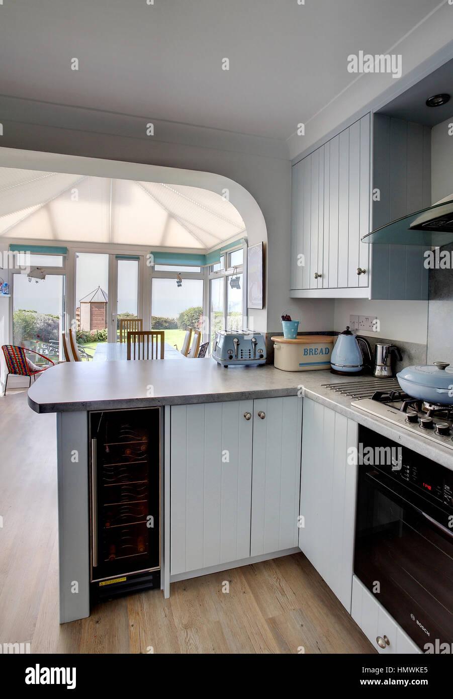 Tolle Blaue Farbe Küchenschränke Bilder - Ideen Für Die Küche ...